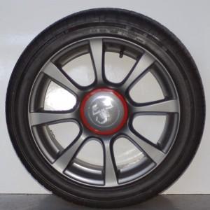 Cerchi in lega Fiat 500 Abarth Originali da 16 pollici