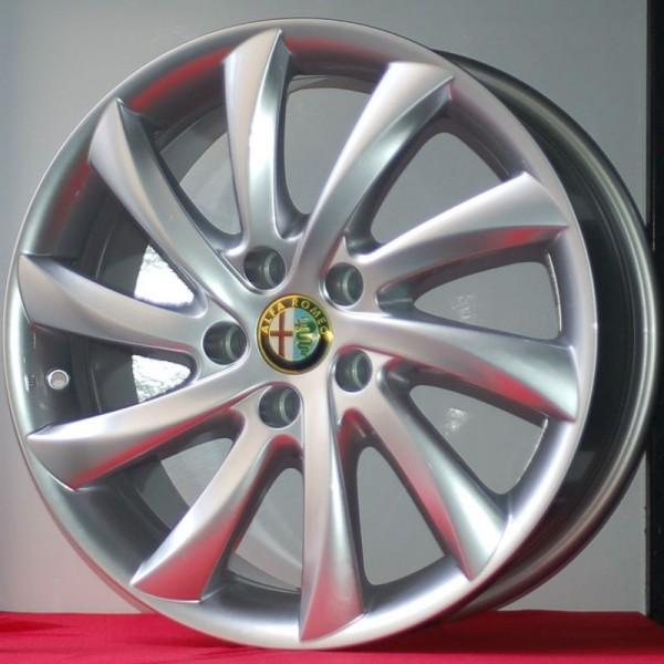 Cerchi Giulietta 17 Originali Alfa Romeo a Turbina Silver (Singolo)