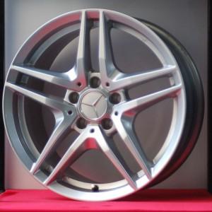 Cerchi Classe A 16 a 5 Razze Doppie Mercedes Benz