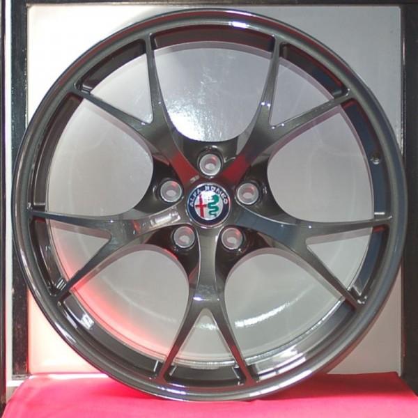 Cerchi Giulia Doppia Misura 8,5-10 da 19 Alfa Romeo Leggeri Brunito