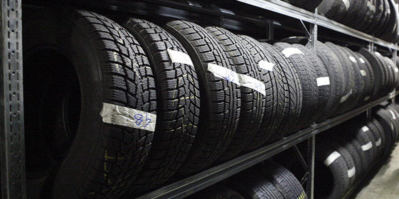 stoccaggio pneumatici