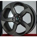 Cerchi Giulia Doppia misura 8 – 9 da 18 Originali Alfa Romeo a 5 Fori Bruniti