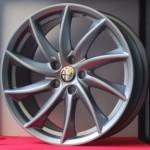 Cerchi Giulia Doppia Misura 8-9 da 18 Alfa Romeo a Turbina