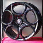 Cerchi Giulietta 18 Originali Alfa Romeo a 5 Fori Antracite