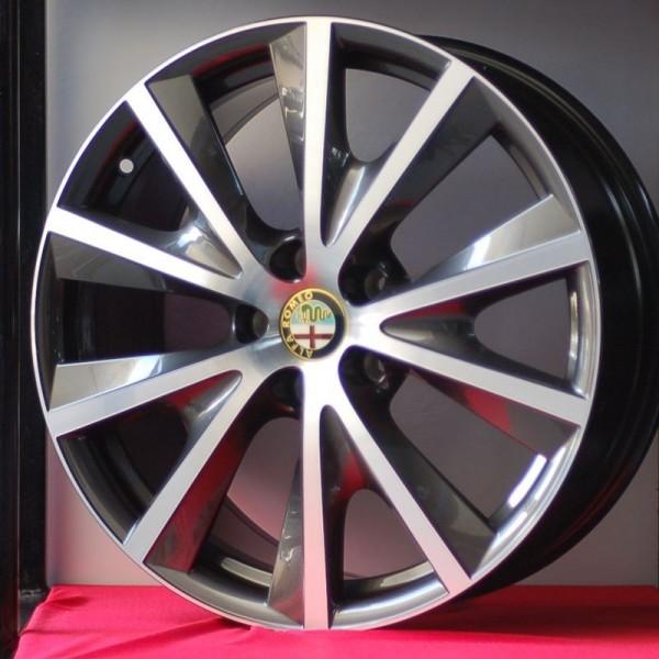 Cerchi Giulietta 18 Originali Alfa Romeo a Raggi Cromati (Singolo)