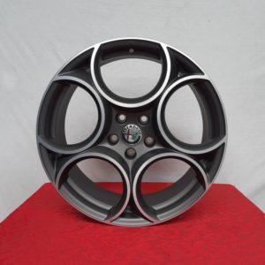 Cerchi in lega Alfa Romeo Stelvio 19 Originali Alfa Romeo Classico Bruniti