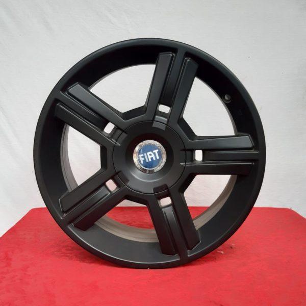 Cerchi Idea 16 Originali Fiat Nero Opaco