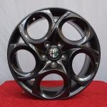 Cerchi Giulietta 17 Originali Alfa Romeo a 5 Fori Antracite
