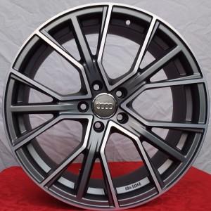 Cerchi in lega Audi Q8 22 AJAX AF18 Antracite Opaco Diamantato