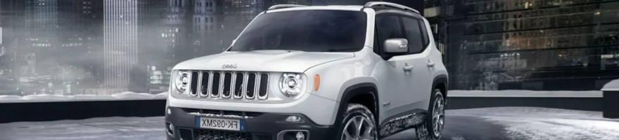 Cerchi in lega e Gomme Jeep Renegade