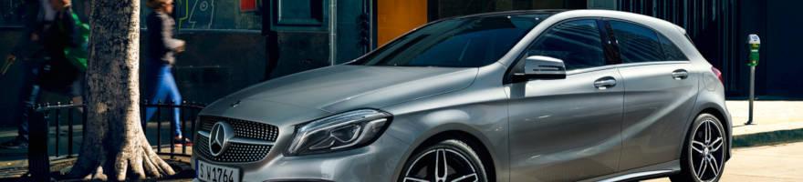 Cerchi in lega e Gomme Mercedes Classe A