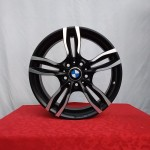 Cerchi BMW Serie3 8|9 18 Mak Luft BMW Nero Diamantato