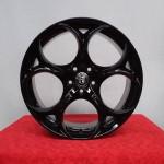 Cerchi Giulia Performance 19 Originali Alfa Romeo Nero lucido personalizzato