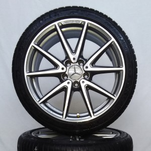 Cerchi Classe C 18 AMG Originali Mercedes e Pneumatici Continental SportContact5 235 40 92Y