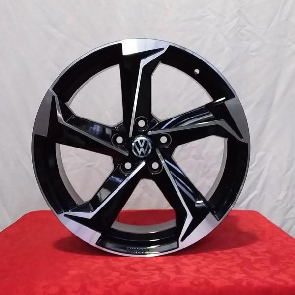 Cerchi Golf 18 New Style Volkswagen RR Esse10 Black Diamond