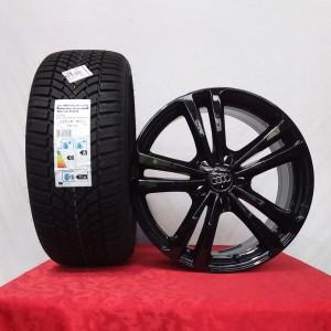 Cerchi Audi A3 – A4 18 Originali 5 Razze Nero Lucido e Pneumatici Bridgestone Blizzak Lm005 94V XL 225 40