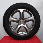 Cerchi Stelvio 18 Originali Alfa Romeo Sport Bruniti e Pneumatici Michelin CrossClimate 235 60