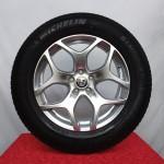 Cerchi Stelvio 18 Originali Alfa Romeo Design Silver e Pneumatici Michelin 235 60