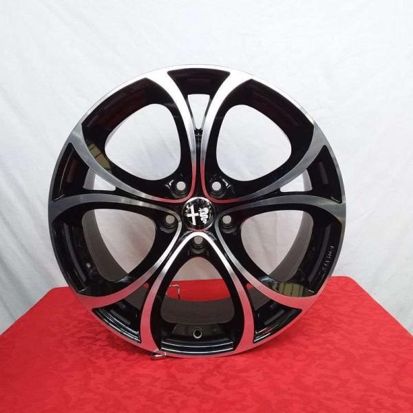 Cerchi Giulia 18 Mak Lario Alfa Romeo Black Mirror
