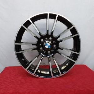 Cerchi Serie 5 19 Monza Bmw Nero Lucido Diamantati