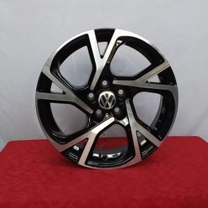 CCerchi Polo 16 PSW Torino Volkswagen Nero Lucido Diamantato