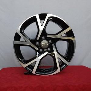 Cerchi A1 16 Bali Audi Nero Lucido Diamantato