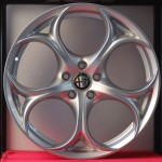 Cerchi Giulia Doppia Misura 8,5-10 da 19 Alfa Romeo Performance Silver