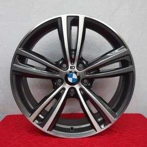 Cerchi BMW Serie 3 - Serie 4 Doppia Misura 19 Originali Antracite Diamantato