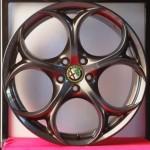 Cerchi Giulia Doppia Misura 8-9 da 19 Alfa Romeo Performance Brunito