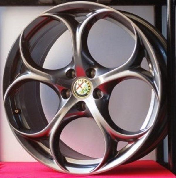 Cerchi Giulia Doppia Misura 8-9 19 Originali Alfa Romeo Performance Antracite