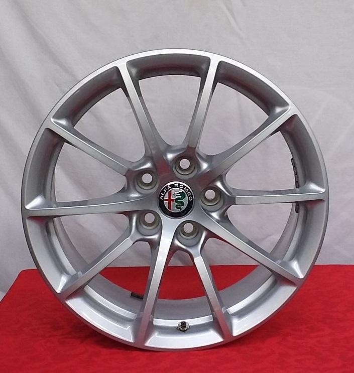 Cerchi Giulia 17 Originali Alfa Romeo a Raggi Silver