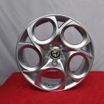 Cerchi Giulietta 17 Originali Alfa Romeo a 5 Fori Silver (Singolo)