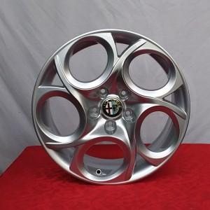 Cerchi Giulietta 17 Originali Alfa Romeo a 5 Fori Silver