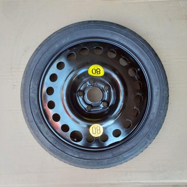 Ruotino di Scorta Da 16 Opel 5 Fori