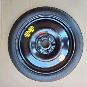 Ruotino di Scorta Da 17 Renault 5 Fori
