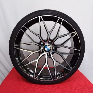 Cerchi BMW Serie 4 Doppia Misura 20 DOTZ Suzuka Dark e Pneumatici Hankook