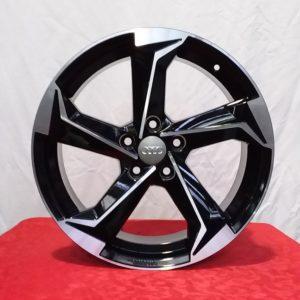 Cerchi A3 17 New Style Audi RS Esse10 Black Diamond
