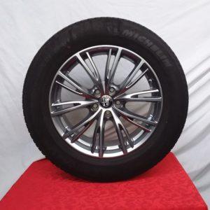 Cerchi Stelvio 18 Originali Alfa Romeo Lusso e Pneumatici Michelin 235 60