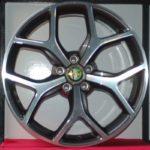 Cerchi Giulia Doppia Misura 19 Originali Alfa Romeo Bruniti Design e Pneumatici Bridgestone S001 225 40 255 35