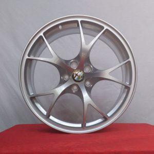 Cerchi Giulia Doppia Misura 8,5-10 da 19 Alfa Romeo Leggeri Silver