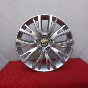 Cerchi Giulietta 17 Originali Alfa Romeo Multi spoke Silver e Pneumatici Continental TS860 225 45