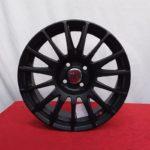 Cerchi Fiat Grande Punto 16 Fondmetal Nero Opaco
