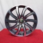 Cerchi Mito 17 Originali Alfa Romeo Antracite Diamantati
