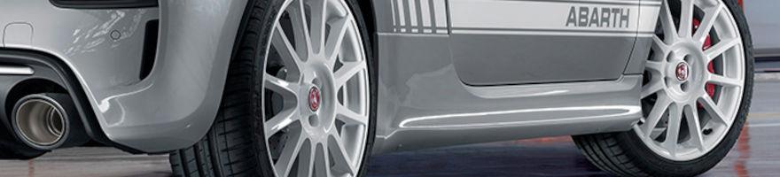 Ruote Complete Cerchi e Gomme Fiat 500 Abarth