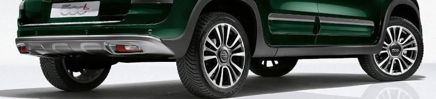 Ruote Complete Cerchi e Gomme Fiat 500L