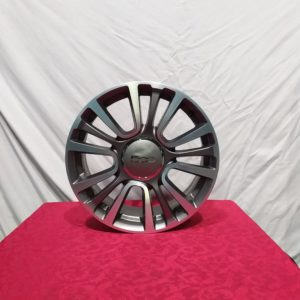 Cerchi 500L 17 Originali Fiat Antracite Diamantato