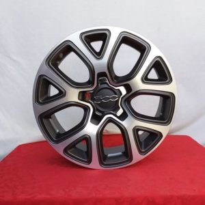 Cerchi 500X 17 Originali Fiat Mopar Antracite Diamantato