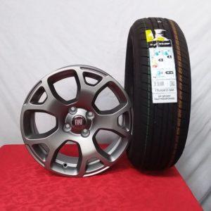 Cerchi Panda 15 Originali Fiat e Pneumatici Dunlop Sport FastResponse 175 65