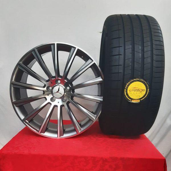 Cerchi Mercedes GLC Doppia Misura 20 e Pneumatici Pirelli Pzero