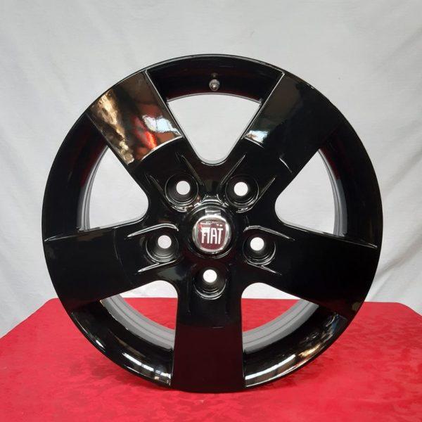Cerchi Ducato Maxi 16 Originali Fiat Nero Lucido